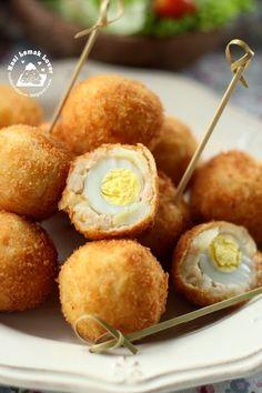 Nasi Lemak Lover: Quail Egg Croquettes 鹌鹑蛋可乐饼