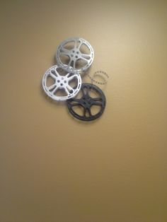 Movie reel decoration. Perfect for home theatre