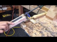 Simple Sharpening Jig - YouTube