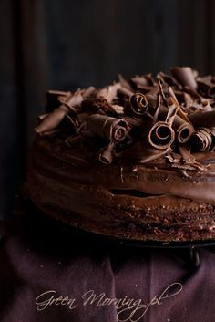 Chocolate cake- can I have please Chocolate Cake Photos, Chocolate Sweets, I Love Chocolate, Chocolate Heaven, Chocolate Lovers, Chocolate Recipes, Chocolate Chip Cookies, Mini Cakes, Cupcake Cakes