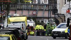 """Atentado en Londres: """"el fuego llegó hasta el techo"""" del tren"""