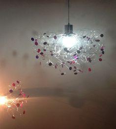 Moderna ara a de cristal colgante luces lampara para - Lamparas arana modernas ...