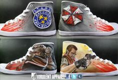Resident Evil shoes!