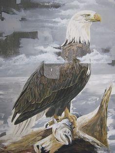 Pose 81 cm x 65 cm Oleo-Lienzo 2008 2500€ #arte #art #cuban #CesarIvan Bald Eagle, Bird, Animals, Canvases, Birds, Animaux, Animal, Animales, Animais
