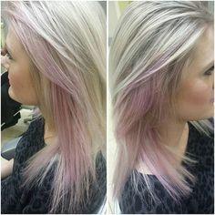 #peekaboos #pravana #pravanapastels #pink #coral #hairpost #pastelhair #babypinkhair
