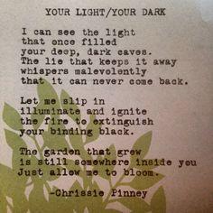 Your Light/Your Dark