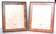 Gemline Easel Back Photo Frame Bellissimo Authentic Walnut or Honey Burl 5 x 7 #Gemline #Transitional