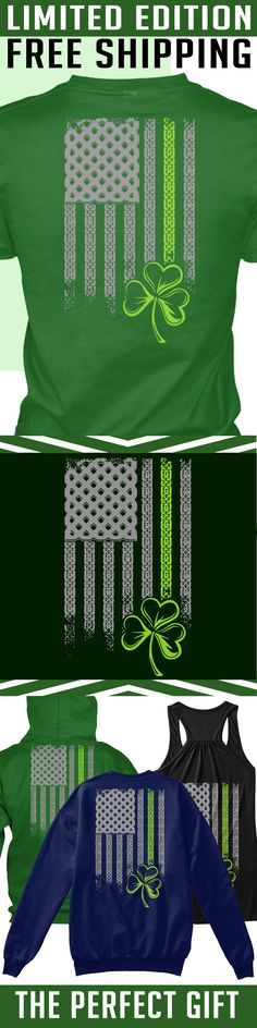 Irish American Flag - Limited Edition. Only 2 days left for free shipping, get it now!