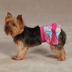 ESC Confetti Ruffle Pet Skirt - Raspberry *** Don't get left behind, see this great dog product : dog clothes