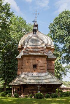 Chotyniec. Drewniana cerkiew greckokatolicka z 1615 roku. / Chotyniec. Wooden Greek Catholic Tserkva from 1615.   #Podkarpackie #Poland #UNESCO #WorldHeritageList