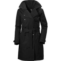 Another day of cold, wet, and windy weather, but you're only thinking about a successful business woman because you've got the Helly Hansen Women's Welsey Insulated Trench Coat to keep you warm, dry, and moving through the elements like your job depends on it. Whether you're off to win over a new client in a swanky restaurant or proposing a newly revamped brand logo, the Welsey is there to help you take on life in the city by a stylish storm.