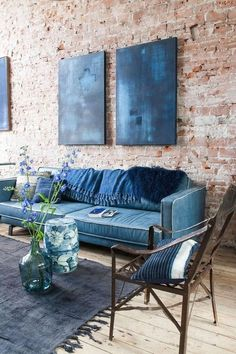 #Blue #interior home Great Interior Design