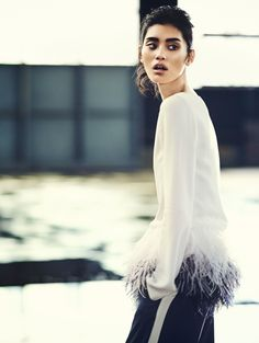 Ming Xi photographiée par Boo George pour Vogue China janvier 2014