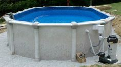 The Distinction LX 15x30 oval swimming pool available at: http://www.abovegroundpoolbuilder.com/