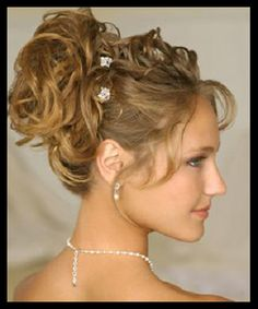 short hair updo for weddings | Bridal Hairstyle : Pictures of bridal short hairstyles