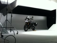 Another busy day in the studio with the Suzuki V-Strom 1000.