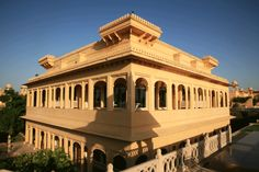 architectural beauty of Oberoi Udaivillas Spa, Udaipur Rajasthan