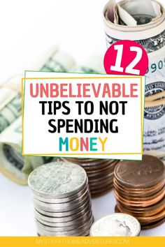 12 Unbelievable Tips For Not Spending Money This 2020 Learn the tricks and tips for not spending money in Start practicing these 12 tips and ideas to reduce your spending and start saving more. Best Money Saving Tips, Money Tips, Saving Money Plan, Money Saving Hacks, Save Money On Groceries, Ways To Save Money, Groceries Budget, Money Budget, Budgeting Finances
