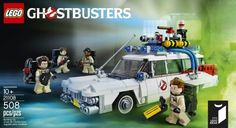 Lego's new Ghostbusters set is from the Members Ideas (CUUSOO) program. Love it! #ghostbusters