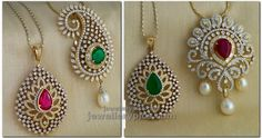 Switch ,replace and change your glamour quotient with new colors. Changeable diamond pendent catalogue stylish designs that gives you a ...