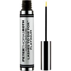 Peter Thomas Roth Lashes to Die for Platinum. Incredible growth treatment. Great for lashes and use on brows to regrow hair.