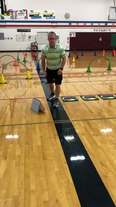 Work on locomotor movements with your students with this locomotor obstacle course! Hopefully this gives you some ideas to create your own obstacle course. Elementary Physical Education, Elementary Pe, Health And Physical Education, Health Class, Toddler Obstacle Course, Obstacle Course Training, Pre K Games, Gym Games, Sports Games
