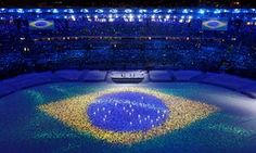 A subtle reminder that the Olympic Games 2016 took place in Brazil.
