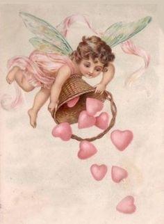 Valentine Images, My Funny Valentine, Vintage Valentine Cards, Vintage Cards, Vintage Postcards, Happy Valentines Day, Valentine Cupid, Funny Postcards, Valentine Picture