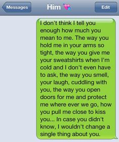 Saucy text messages for him