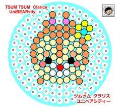 Tsum Tsum Perler Beads Clarice