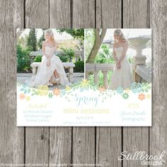 Summer/Spring Mini Session Template Marketing von StillbrookDesigns