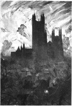 """azertip: """" Fragments of time that will not return William Hyde """" Fantasy Landscape, Urban Landscape, Art Sketches, Art Drawings, Drawing Faces, Manga Drawing, Drawing Tips, Pencil Drawings, Art Noir"""