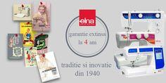 ELNA - traditie si inovatie din 1940! Acum cu garantie extinsa! http://decusut.ro/promotii/
