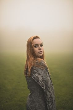 Natural outdoor portraits with megan bea tiernan in mist, fog forest in killiney hill  0007