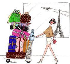 Travel, Paris - Kanako - http://www.mariebastille.com/Kanako/html/kanako05.html