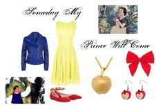 """Someday My Prince Will Come"" by abby-j-mathews ❤ liked on Polyvore featuring Armani Jeans, Lipsy, Carole, Irregular Choice, women's clothing, women, female, woman, misses and juniors"
