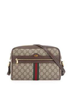 ffdc4b1ba76 Gucci Ophidia Medium GG Supreme Camera Crossbody Bag