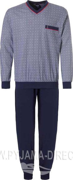 bleu marine HANRO Night /& Day Jersey Tricot Homme Peignoir