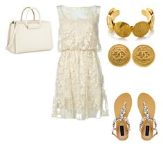 """""""Untitled #24276"""" by edasn12 ❤ liked on Polyvore featuring Alice + Olivia, Chanel, Forever New and The Row"""