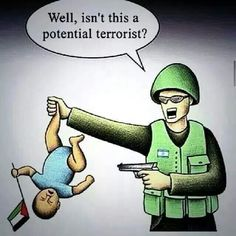 Apartheid Israel guilty of genocide and war crimes against Palestinians, tell me again how 4 year olds were threatening Israel. 69% casualties of Operation Protective edge were  children less than 14 years of age