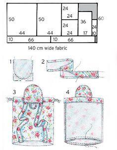 simple backpack diagrams