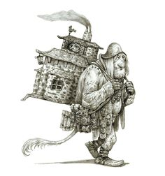 Troll home by eoghankerrigan on DeviantArt Fantasy Creatures, Mythical Creatures, Character Concept, Character Design, Character Cottages, Star Wars Episode Iv, House Ornaments, The Dark Crystal, D D Characters