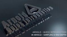 01 Arnold - Sampling & Ray-Depth in Arnold Renderer lernen mit Helge Maus Solid Angle, Arnold Render, Tricks, Sky, Lighting Design, Cameras, Material, Lights, Studying