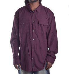 Calvin Klein Men's Modern fit Long Sleeve Button Up Shirt