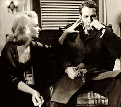 Joanne Woodward and Paul Newman in 'From the Terrace' (1960)...........Tumblr