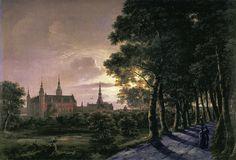 Fredericksborg Castle J.C.C. Dahl - 1817