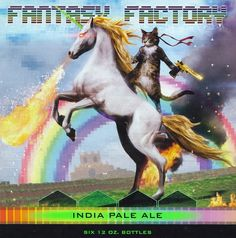 Karben4 is now bottling Fantasy Factory and their label is amazing.