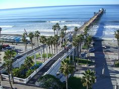 Oceanside, California... one of our family favorites. This is the view from the resort we visit every September. It is beautiful and simply perfect!