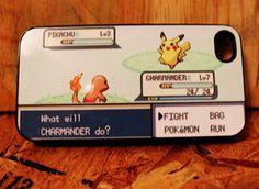 funny iphone case pokemon battle