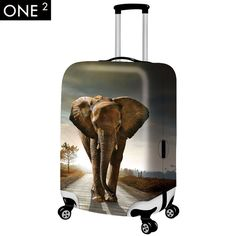 4 Size Gae Printed Business Luggage Protector Travel Baggage Suitcase Cover